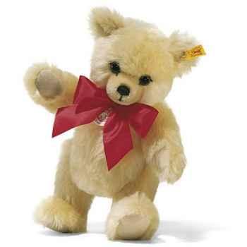 Peluche Steiff Ours Teddy grognant mohair crème -st011597