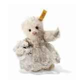 peluche steiff ours teddy mariee st027970