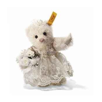 Peluche Steiff Ours Teddy mariée -st027970