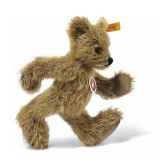 peluche steiff ours teddy mohair big foot blond dore st002915