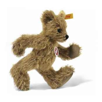 Peluche Steiff Ours Teddy mohair Big foot blond doré -st002915