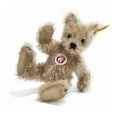 peluche steiff ours teddy mohair big foot blond st002922
