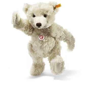 Peluche Steiff Ours Teddy mohair blanc -st004995