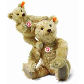 Peluche Steiff Ours Teddy mohair blond clair -st004230