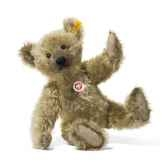 peluche steiff ours teddy mohair cuivre jaune st000560