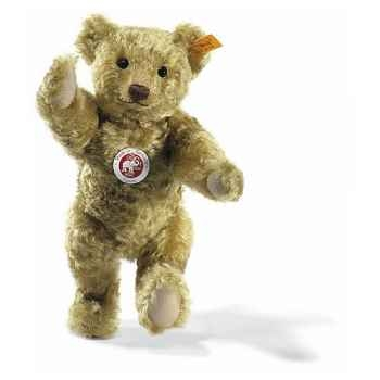 Peluche Steiff Ours Teddy mohair cuivre jaune -st004261