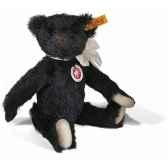 peluche steiff ours teddy mohair noir st000584