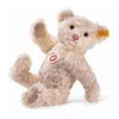 peluche steiff ours teddy mohair rose st006012