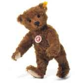 peluche steiff ours teddy mohair rouille st004803