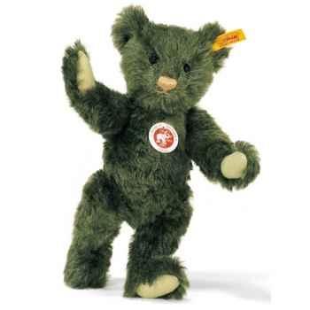 Peluche Steiff Ours Teddy mohair vert foncé -st005480