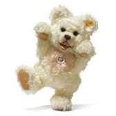 peluche steiff ours teddy zotty mohair blanc st018213