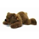 peluche steiff ours brun pummy couche st069895