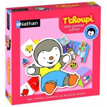 Premiers jeux t'choupi  Nathan -31009