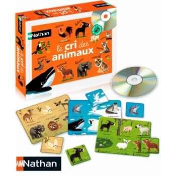 Le jeu des cris des animaux  Nathan -31052