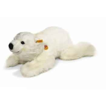 Peluche Steiff Ours polaire Snobby couché-113031