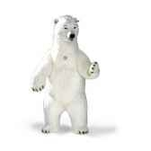 peluche steiff ours polaire studio redresse 501524