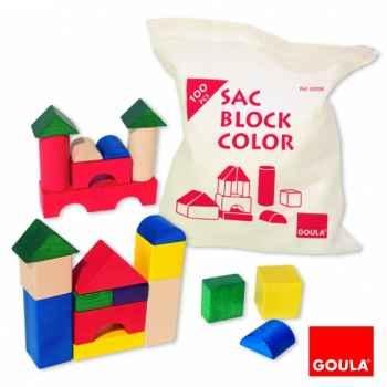 Sac block couleur 100 Goula -50206