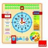 horloge calendrier anglais goula 51307
