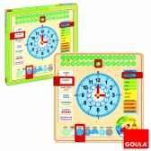 horloge calendrier francais goula 51308