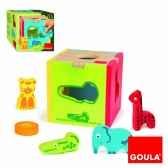 cube animaux a encastrer goula 53424