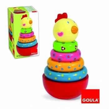 Puzzle poule culbuto Goula -55210