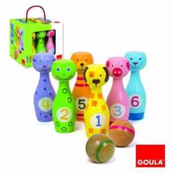 Jeu des quilles Goula -55226