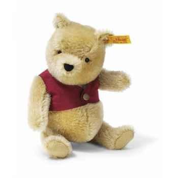 Peluche Steiff Winnie l'ourson mohair-354403