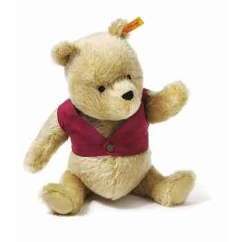 Peluche Steiff Winnie l\'ourson mohair-354410