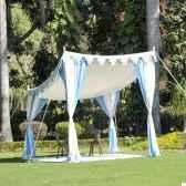 shamiana tente sans parois indian garden company sho1