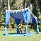 shamiana tente sans parois indian garden company sho2
