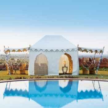 Haveli tente avec 2 panneaux et 2 portes Indian Garden Company -BD01