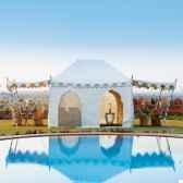 haveli tente avec 2 panneaux et 2 portes indian garden company bd01t