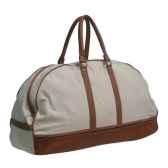 sac de voyage en cuir et toile soluna pn9170