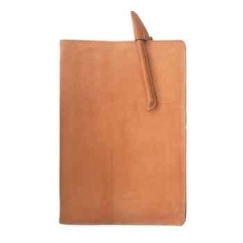 Protège cahier en cuir Sol Luna -PN980