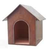 petite niche en cuir pour chien soluna hccasap