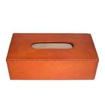 Boîte à mouchoirs en cuir Sol Luna -PN972