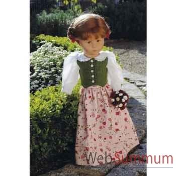 Poupée collection Kathe Kruse®  - Modèle puppe VII, Hampelchen®Gitti - 47705
