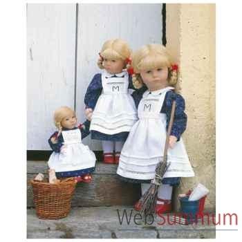 Poupée collection Kathe Kruse®  - Modèle Daumlinchen Bettina  rousse - 25610