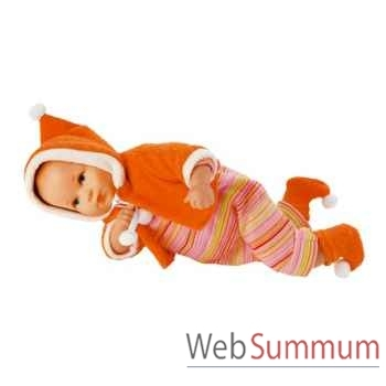 Kathe Kruse®  - Poupée Mini Bambina Escargot, 33 cm - 36659