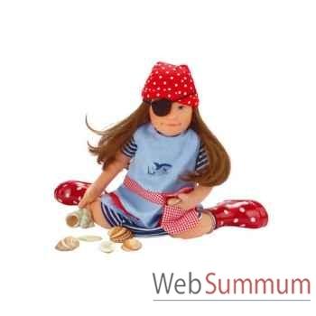 Kathe Kruse® - Poupée Lolle femme de pirate - 54705