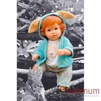 Kathe Kruse®  - Poupée barboton Bunny, 30 cm - 30605