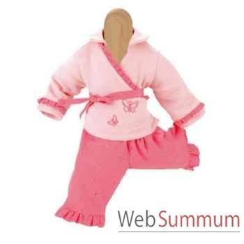Kathe Kruse® - Vetement rose pour poupée bébé de 22 à 25 cm - 33869