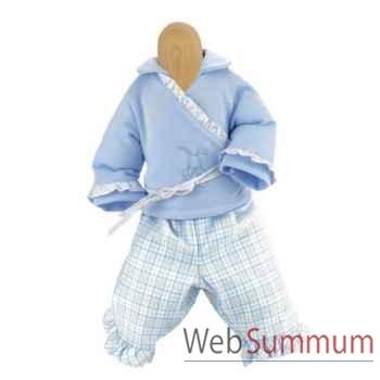 Kathe Kruse® - Vetement bleu pour poupée bébé de 22 à 25 cm - 33865