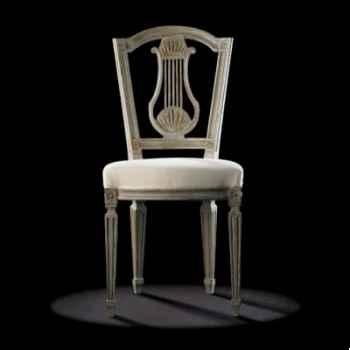Chaise louis xvi lyre Massant -L16T3