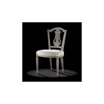 chaise louis xvi lyre elargie massant l16t3 1. Black Bedroom Furniture Sets. Home Design Ideas