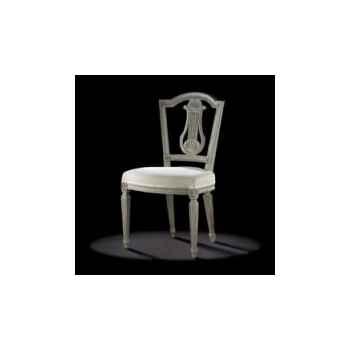 Chaise louis xvi lyre elargie Massant -L16T3/1