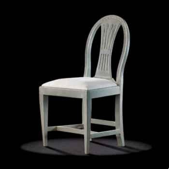 Chaise louis xvi gustavienne Massant -L16DEL1