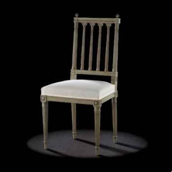 Chaise louis xvi colonne Massant -L16T14