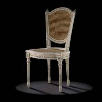 Chaise louis xvi perle Massant -L16TA1