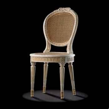 Chaise louis xvi nœud Massant -L16TA2